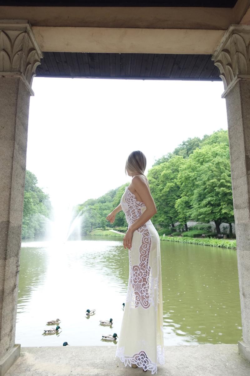 dress, lace dress, haljina, čipkasta haljina