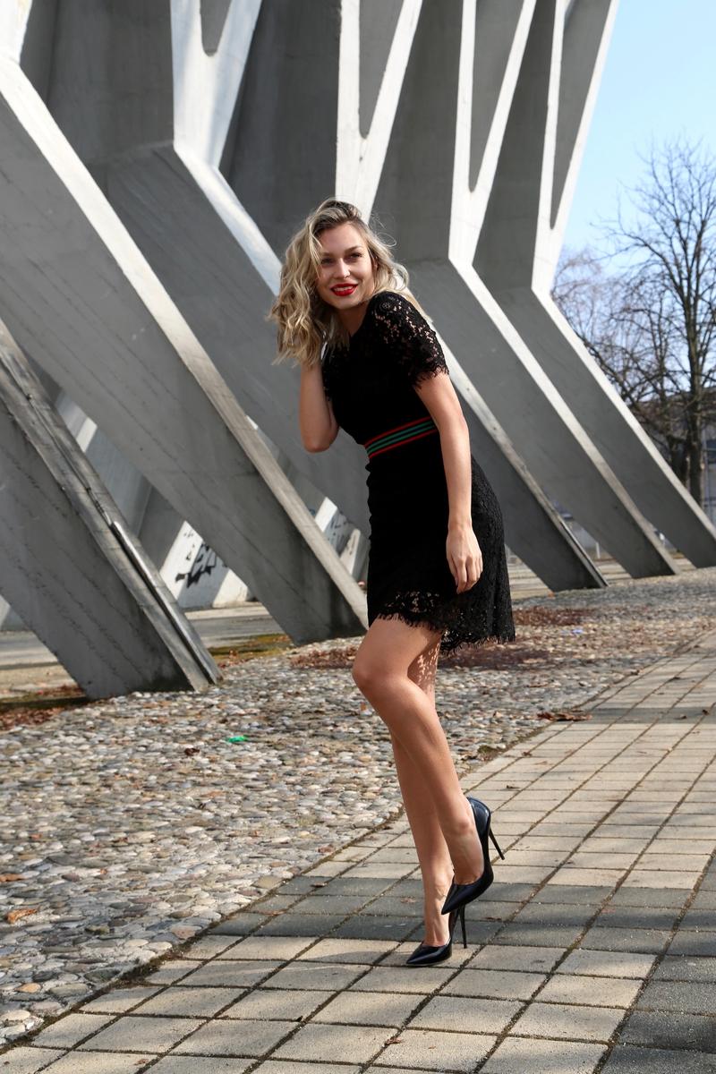 X morganX sportinaX sportina grupaX morgan de toiX sonja kovacX outfitX little black dressX lace dressX casualX elegantX t-shirtX black skinny jeans