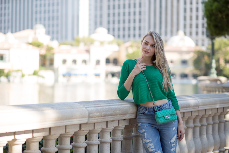 las vegas, sonja kovac, chanel, chanel bag, mom jeans, zara, shoes, jimmy choo