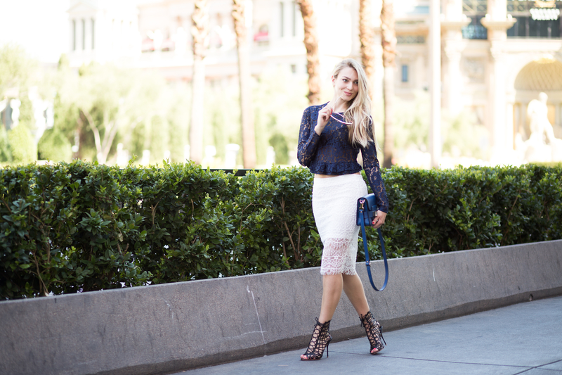 las vegas strip, las vegas, sonja kovac, new york film academy, blog, modna blogerica, instagram, snapchat, lace skirt, zara, lace blouse, bag, proenza schouler, shoes, heels, s<script srcset=