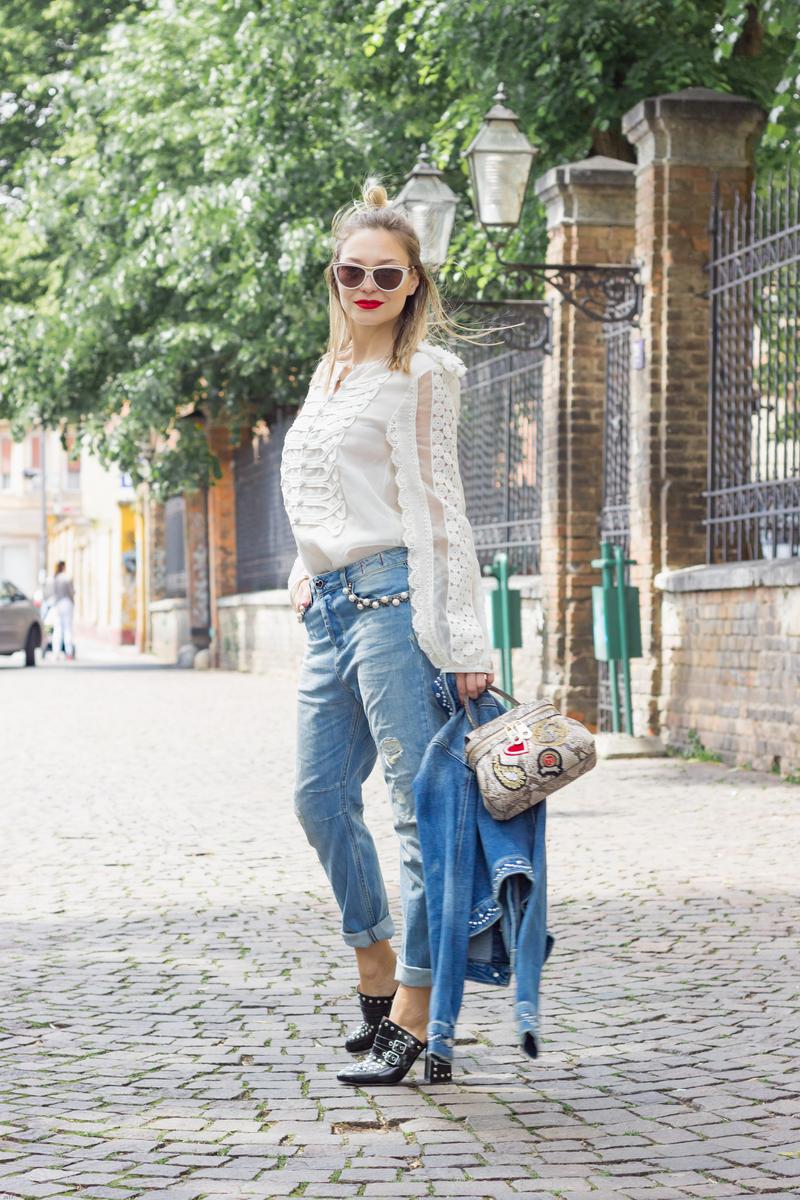 X twinsetX twinset bagX jeansX blouse